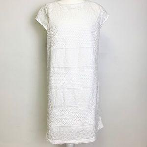 NWOT Halogen White Lace Dress